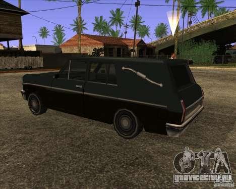 Coffin San Andreas Stories для GTA San Andreas вид слева