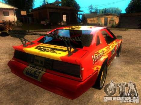 Buffalo DTM v2 для GTA San Andreas вид слева