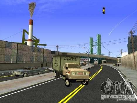 Yankee на базе GMC для GTA San Andreas вид слева