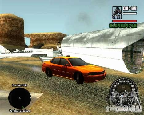 Новый спидометр BMW для GTA San Andreas второй скриншот