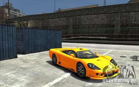Saleen S7 для GTA 4 вид сзади