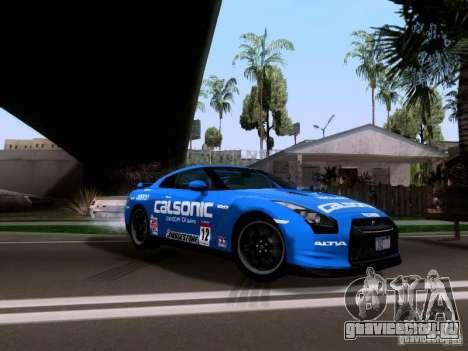 Nissan GTR 2010 Spec-V для GTA San Andreas