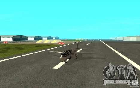 EA-6B Prowler для GTA San Andreas вид сзади слева
