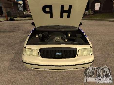Ford Crown Victoria NSW Police для GTA San Andreas вид справа