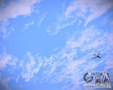 Real Clouds HD для GTA San Andreas третий скриншот