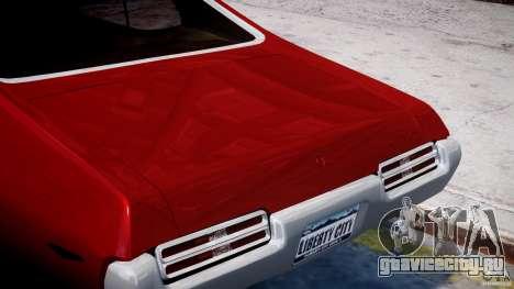 Pontiac GTO 1965 v1.1 для GTA 4 вид сверху