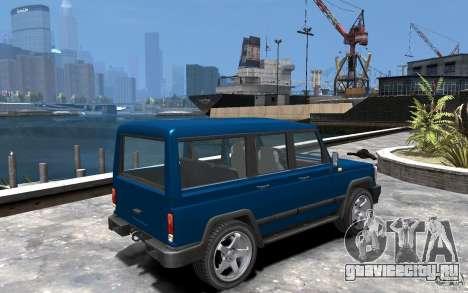 УАЗ 3170 для GTA 4 вид справа