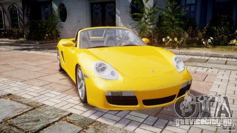 Porsche Boxster S для GTA 4