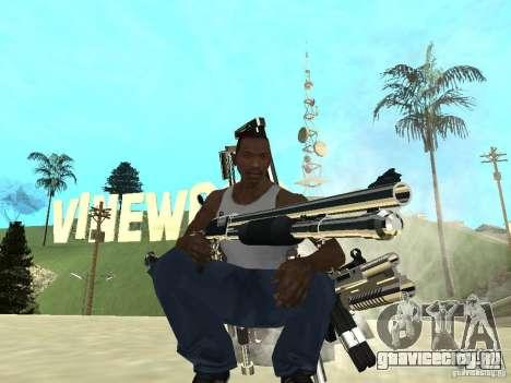 Weapons Pack для GTA San Andreas второй скриншот