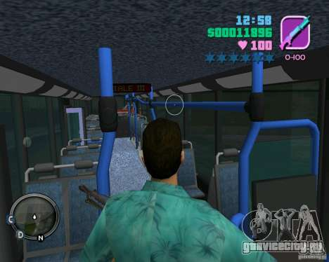 Marcopolo Bus для GTA Vice City вид сверху