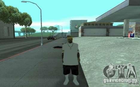 Новый скины Los Santos Vagos для GTA San Andreas пятый скриншот