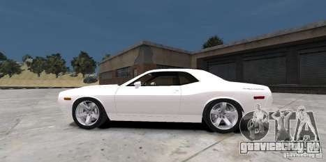 Dodge Challenger 2006 для GTA 4 вид сзади слева