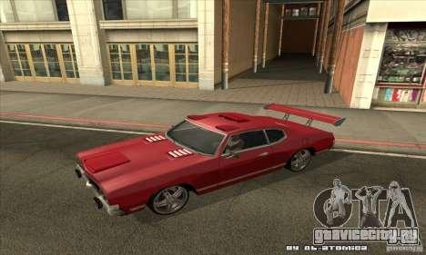 Sabre Drift для GTA San Andreas вид слева