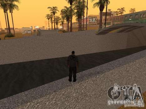 HD Пляж Санта Мария для GTA San Andreas шестой скриншот