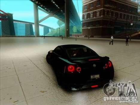 Nissan GTR Egoist 2011 для GTA San Andreas вид слева