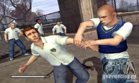 Загрузочные картинки Bully Scholarship Edition для GTA San Andreas второй скриншот