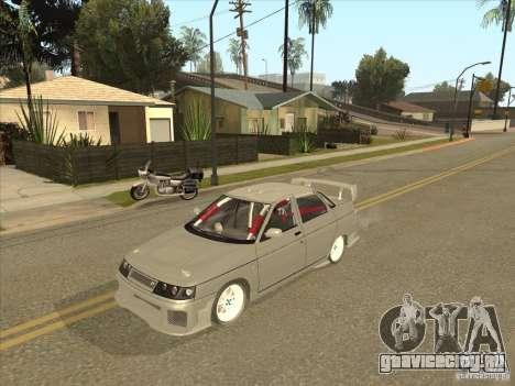 ВАЗ 21103 Уличный Тюнинг v1.0 для GTA San Andreas вид сзади