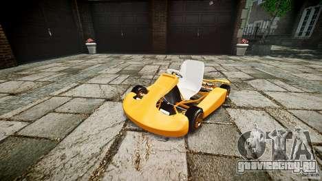 Karting для GTA 4 вид справа