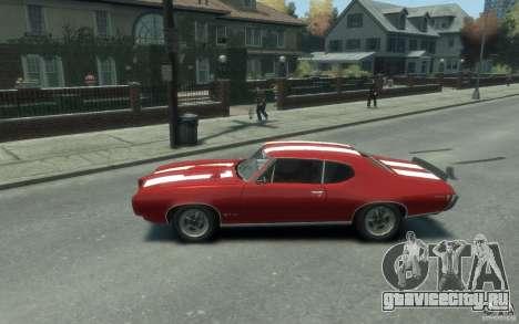 Pontiac GTO Hardtop 1968 v1 для GTA 4 вид слева