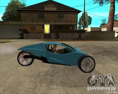 AP3 cobra для GTA San Andreas вид справа