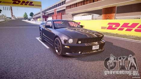 Saleen S281 Extreme Unmarked Police Car - v1.1 для GTA 4 вид изнутри