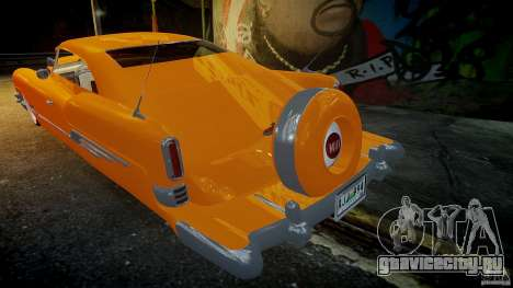 Buick Custom Copperhead 1950 для GTA 4 вид сверху