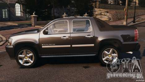 Chevrolet Avalanche Stock [Beta] для GTA 4 вид слева