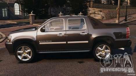 Chevrolet Avalanche Stock [Beta] для GTA 4 вид слева