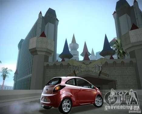 Ford Ka 2011 для GTA San Andreas вид справа