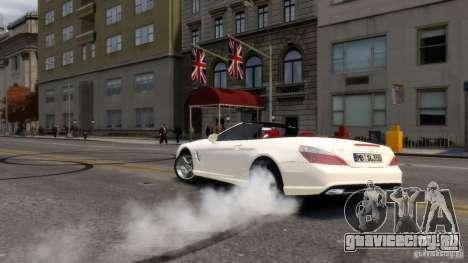 Mercedes-Benz SL 350 2013 v1.0 для GTA 4 вид сзади