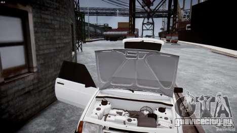 ВАЗ 21083i для GTA 4 вид изнутри