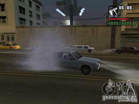 New Realistic Effects для GTA San Andreas десятый скриншот