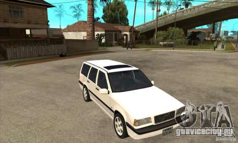 Volvo 850 GLT для GTA San Andreas вид сзади