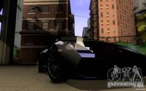 Lamborghini Gallardo Superleggera для GTA San Andreas вид сбоку