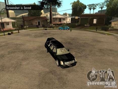 Cadillac DTS 2008 для GTA San Andreas вид справа