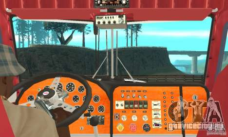 Peterbilt 359 для GTA San Andreas вид справа