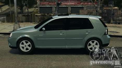 Volkswagen Golf Sportline 2011 для GTA 4 вид слева