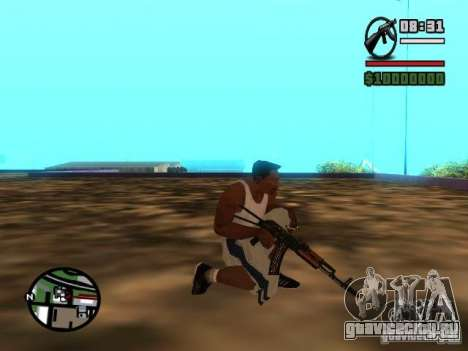 Gangster Weapon Pack для GTA San Andreas шестой скриншот