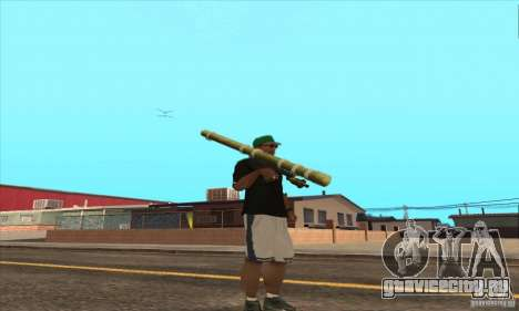 WEAPON BY SWORD для GTA San Andreas седьмой скриншот