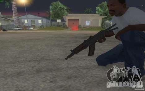 AKS-74U для GTA San Andreas четвёртый скриншот