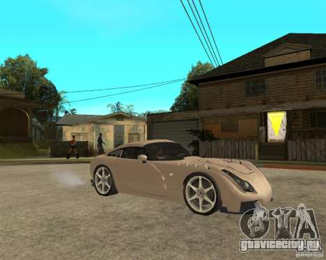 TVR Sagaris для GTA San Andreas вид справа