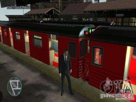 Поезд Redbird v1.0 для GTA 4 второй скриншот