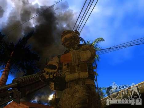 Пулемет M60E4 для GTA San Andreas