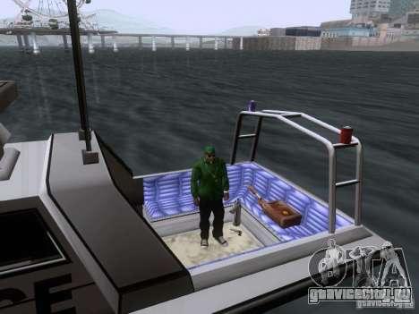 NEW Predator для GTA San Andreas вид изнутри
