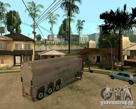 Прицеп Стекловоз для GTA San Andreas вид слева