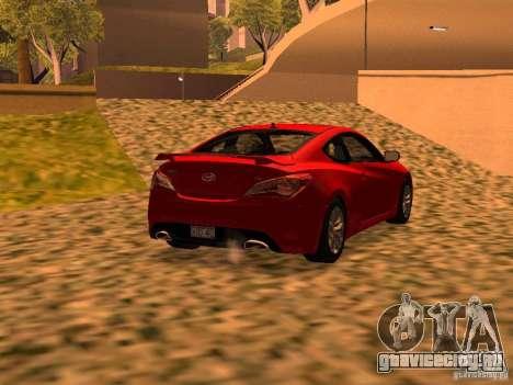 Hyundai Genesis Coupé 3.8 Track V1.0 для GTA San Andreas вид слева