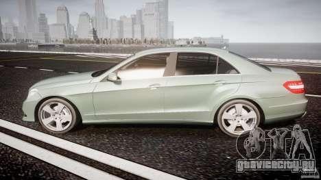 Mercedes-Benz E63 2010 AMG v.1.0 для GTA 4 вид слева