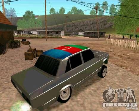 ВАЗ 2107 Full для GTA San Andreas вид слева