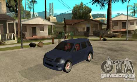 Suzuki Ignis Rally для GTA San Andreas