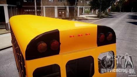 School Bus [Beta] для GTA 4 двигатель